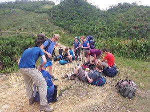 Trekking Hantana Mountain Kandy