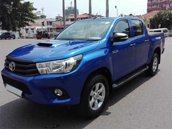 Toyota cab for rent for tourists with driver ad self drive in colombo
