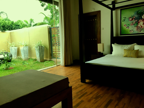 Colombo Airport Hotel Garden view room lespri grand